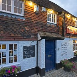 The Woolpack Inn Yalding At Night